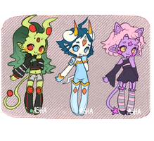 Space Alien Adopts : CLOSED by NCAHK-Adopts