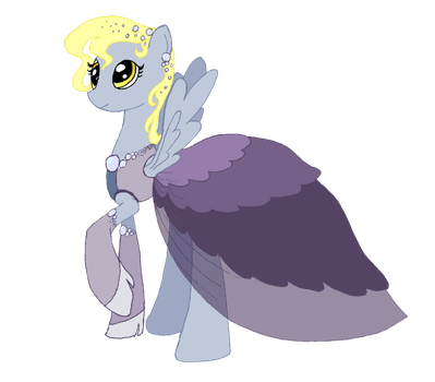 Derpy Galla dress by ElfGift