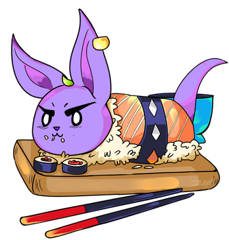 Sushi Beerus by brow9637