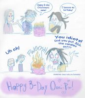 Happy B-Day Orochi-Poo by darkwater-pirate