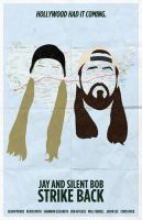 Jay And Silent Bob Strike Back poster by billpyle