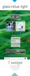 Glassxblue Light Suite for XWidget by qq416931658 by qiancang