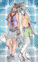 The Werewolf and the Animamate by Riori