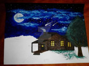 Not Finished But I ADORE The Sky!