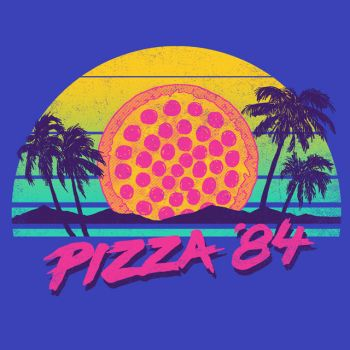 Pizza '84 by HillaryWhiteRabbit