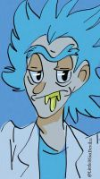 RICK SANCHEZ by LittleMissDevil21