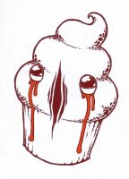 brutal cupcake :: MOURNING by airetosE