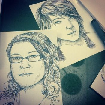 Roomate and Moi by KytCordell