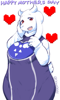 Toriel Mother's Day by the-chinad011-house