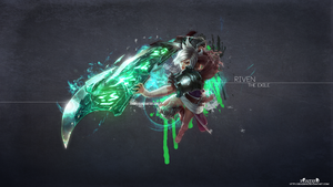 LoL - Riven Wallpaper HD by xRazerxD