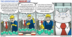 The Adventures of Regular Cat - Factory by tomfonder