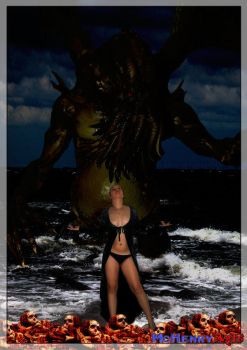 Summon of Cthulhu_by_mchenry by monstersandmaidens
