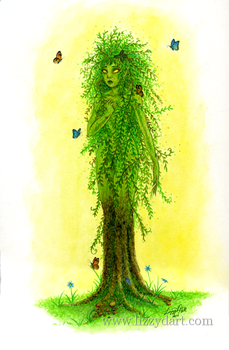 Dryad by Lizzy-D