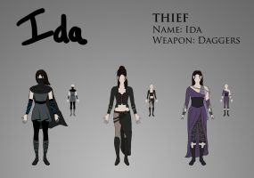 Costume Design - Thief by Saza-Productions