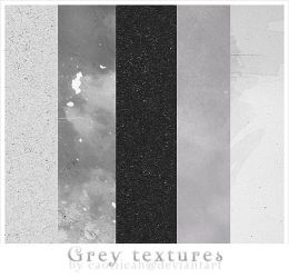 Grey Textures by caotiicah