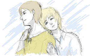 SnK - No matter what [Sketch] by PinK-BanG