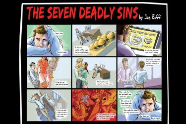 Seven Deadly Sins by JoeRuff