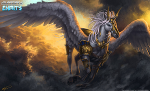 Sunrise Pegasus by feintbellt