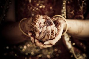 Indian Bride by sandflashphotography