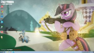 Call of Ponies wallpaper by EgonEagle