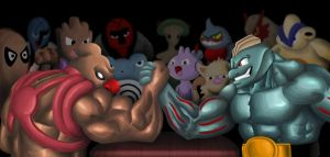 pokemon armwrestling