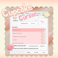 Cupcake Cursor n.n by SweetPinkGalaxy