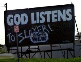 God Listens To Slayer by TiGer4iQ