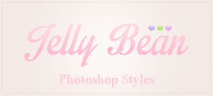 Jelly Bean Photoshop Styles by MariMysteria