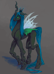 Queen Chrysalis by Empty-Brooke