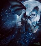 Mother of Night Creatures (Commission) by TriZiana
