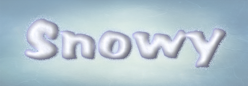 Photoshop Snowy Layer Style by Sinner-PWA