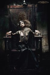 THRONE:  Oracle by chadmichaelward
