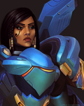 Overwatch: Pharah by ruthiebutt