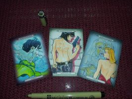 Dynamite Comics Sketch Cards 2 by CliffThomas