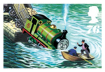 Percy Railway Series Royal Stamp by KitKat37