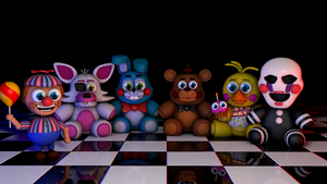 [C4D] Toy Plushies!! (don't let the name fool you) by GaboCOart