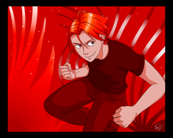 Color Challenge 01 - Red by twapa