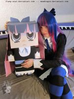Stocking and Cardboard Stocking by Kythana