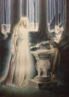 The Mirror of galadriel by Bmosig