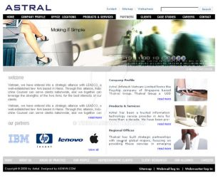 Astral - Computer Co. Layout by tinicat