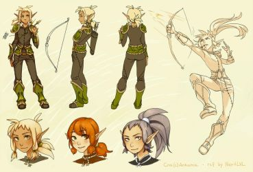 Wakfu: Cra fanmade reference by Next--LVL