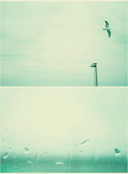 .rain and the sea by youcantstealmylove