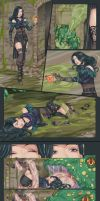 Yennefer and ToadPrince by LinART