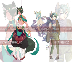 Hotaruin + Xianta Collab Auction [CLOSED] by Xianta-chan