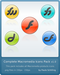 Complete Macromedia Icons v1.0 by paulodev