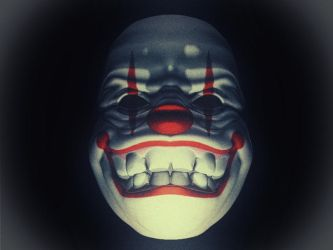 Evil Clown by Stonestef