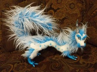 Frost Fur the Asian Dragon by Eviecats