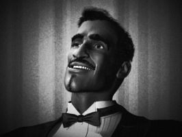 The Rat Pack - Sammy Davis Jr by javiperillas