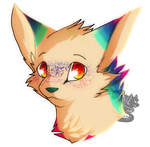 Fara-tail Headshot Commission by DevilsRealm