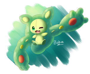 Reuniclus by Bokue